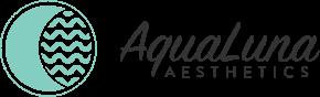 Aqua Luna Aesthetics Logo